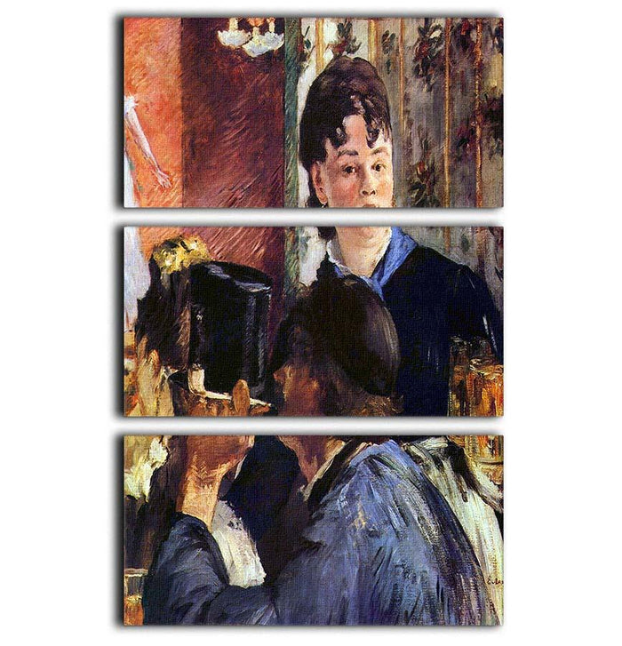 Waitress by Manet 3 Split Panel Canvas Print