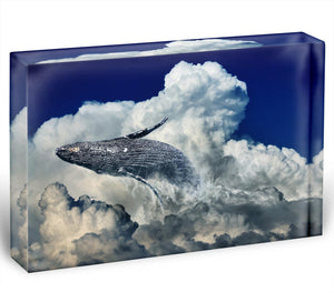 Wale Sky Acrylic Block - Canvas Art Rocks - 1