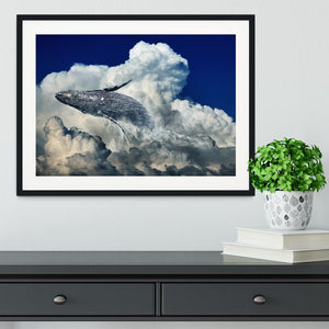 Wale Sky Framed Print - Canvas Art Rocks - 1