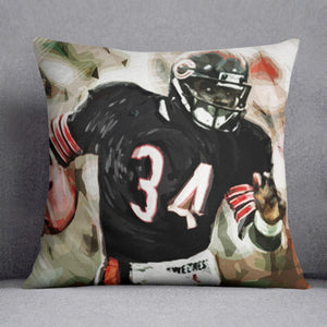 Walter Payton Chicago Bears Cushion