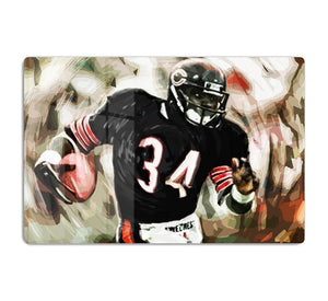 Walter Payton Chicago Bears HD Metal Print