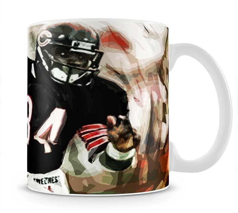 Walter Payton Chicago Bears Mug - Canvas Art Rocks - 1
