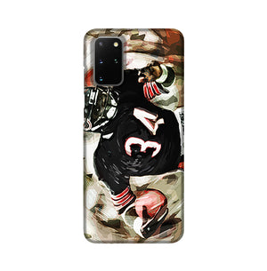 Walter Payton Chicago Bears Phone Case Samsung S20 Plus