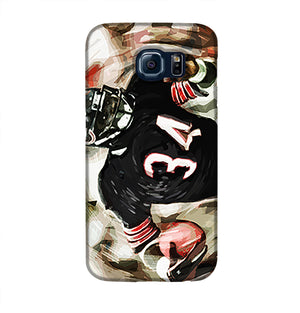 Walter Payton Chicago Bears Phone Case Samsung S6