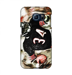 Walter Payton Chicago Bears Phone Case Samsung S6 Edge