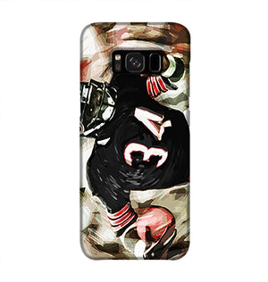 Walter Payton Chicago Bears Phone Case Samsung S8