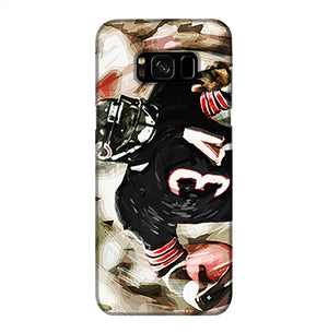 Walter Payton Chicago Bears Phone Case Samsung S8 Plus