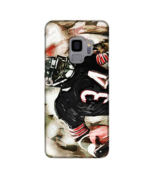 Walter Payton Chicago Bears Phone Case Samsung S9