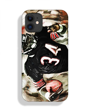 Walter Payton Chicago Bears Phone Case iPhone 11