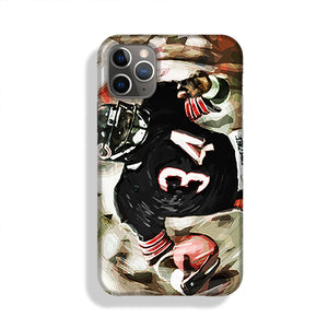 Walter Payton Chicago Bears Phone Case iPhone 11 Pro Max