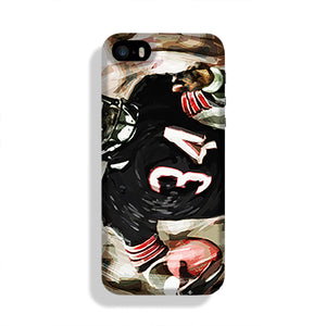 Walter Payton Chicago Bears Phone Case iPhone 5