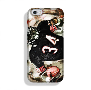 Walter Payton Chicago Bears Phone Case iPhone 6