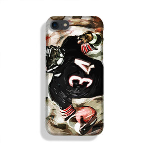 Walter Payton Chicago Bears Phone Case iPhone XE
