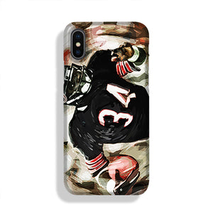 Walter Payton Chicago Bears Phone Case iPhone X/XS