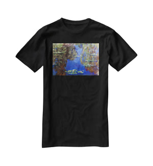 Water Lilies 6 By Manet T-Shirt - Canvas Art Rocks - 1