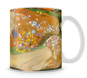 Water snakes friends II by Klimt Mug - Canvas Art Rocks - 1
