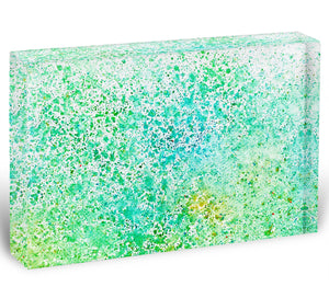 Watercolor painting on paper Acrylic Block - Canvas Art Rocks - 1