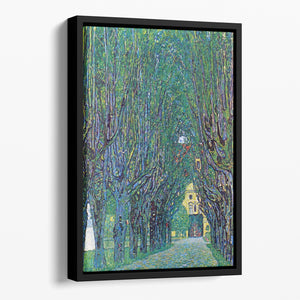 Way to the Park by Klimt Floating Framed Canvas