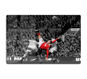 Wayne Rooney Bicycle Kick HD Metal Print