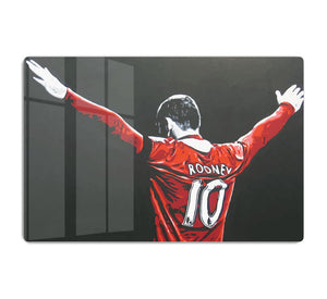 Wayne Rooney HD Metal Print