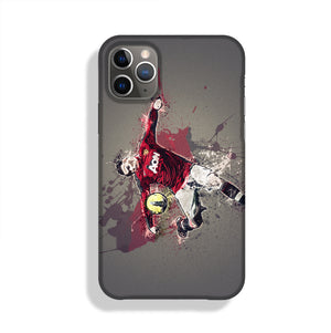 Wayne Rooney Paint Splatter Phone Case iPhone 11 Pro Max