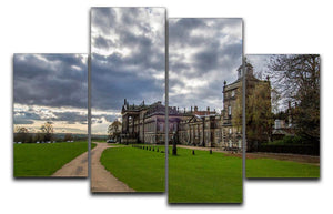 Wentworth Woodhouse Hall 4 Split Panel Canvas - Canvas Art Rocks - 1