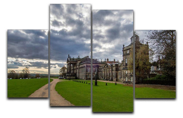 Wentworth Woodhouse Hall 4 Split Panel Canvas