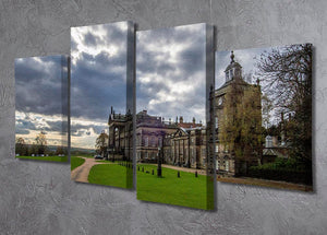 Wentworth Woodhouse Hall 4 Split Panel Canvas - Canvas Art Rocks - 2
