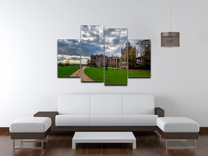 Wentworth Woodhouse Hall 4 Split Panel Canvas - Canvas Art Rocks - 3