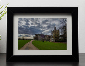 Wentworth Woodhouse Hall Framed Print - Canvas Art Rocks - 1