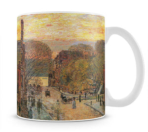 West 78th Street in Spring by Hassam Mug - Canvas Art Rocks - 1