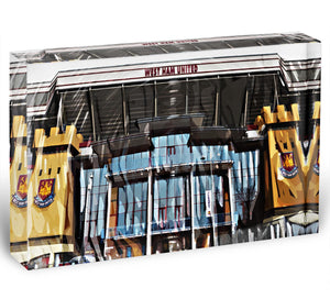West Ham Upton Park Acrylic Block - Canvas Art Rocks - 1