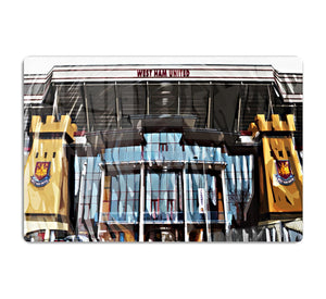 West Ham Upton Park HD Metal Print