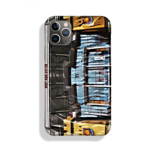 West Ham Upton Park Phone Case iPhone 11 Pro Max