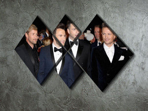 Westlife 4 Square Multi Panel Canvas  - Canvas Art Rocks - 2