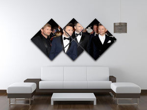 Westlife 4 Square Multi Panel Canvas  - Canvas Art Rocks - 3