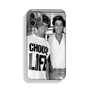 Whams George Michael and George Ridgeley Phone Case iPhone 11 Pro Max