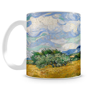 Wheat Field with Cypresses Mug - Canvas Art Rocks - 4