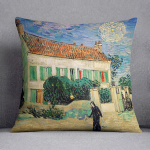White House at Night Cushion