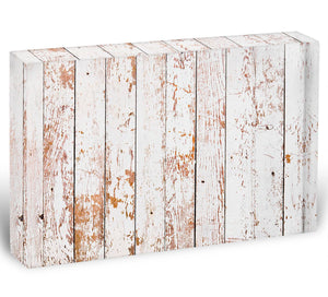 White grunge wooden Acrylic Block - Canvas Art Rocks - 1