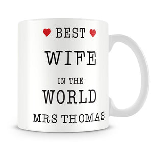 Best in The World Personalised Mug