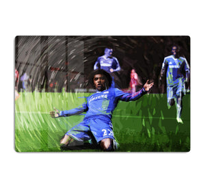 Willian Chelsea HD Metal Print