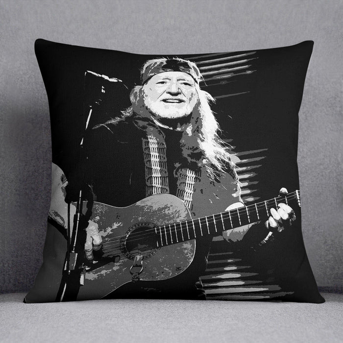 Willie Nelson Cushion