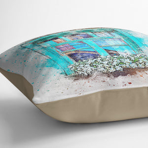 Window Painting Cushion