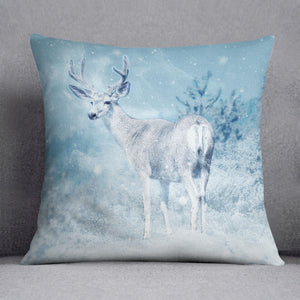 Winter Moose Cushion