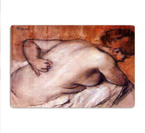 Womans back by Degas HD Metal Print - Canvas Art Rocks - 1