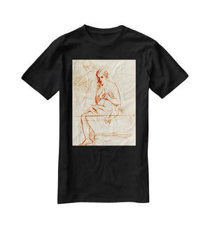 Women at the Toilet by Manet T-Shirt - Canvas Art Rocks - 1