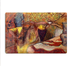 Women at the toilet 1 by Degas HD Metal Print - Canvas Art Rocks - 1