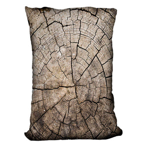 Wood Cushion - Canvas Art Rocks - 4
