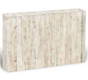 Wooden texture light wood Acrylic Block - Canvas Art Rocks - 1
